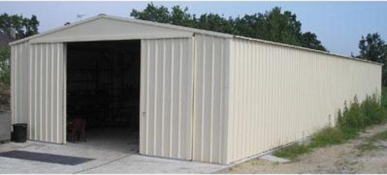 Garage m tallique type hangar devis - Tarif hangar metallique ...