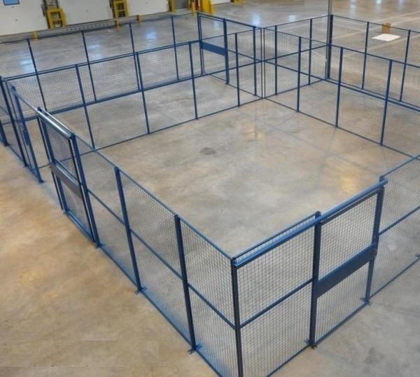 Cloison grillag e grille de s paration d 39 atelier for Cloison separation industrielle